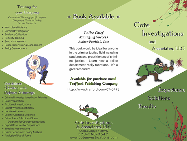 Cote-Investigations-Brochure-Outside